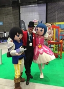 costume performers for hire at Exhibitions UK