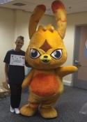 hire mascot performers Birmingham & chaperones