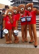 mascot performers nec Birmingham pet show