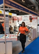 hire exhibition sales staff Birmingham, UK
