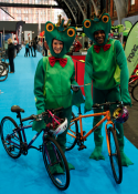 mascot & costume performers, exhibitions at the NEC