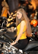 hire models for motorcycle show in Birmingham