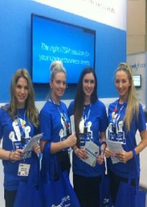 hostesses & promo staff Solar & Storage Live Show