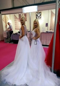 hire bridal models for exhibitions and wedding shows in Birmingham