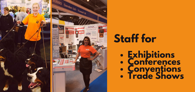 Exhibition, Conference & Convention Staff & Hostesses