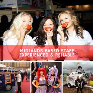 exhibition staffing agency Birmingham