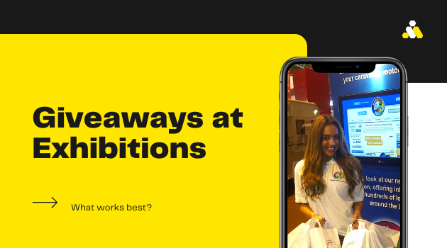 Giveaways at Exhibitions – What works best!